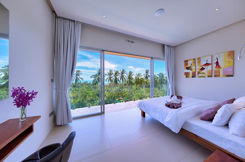 Villa Zoe Bedroom with Balcony   Bang Por, Koh Samui