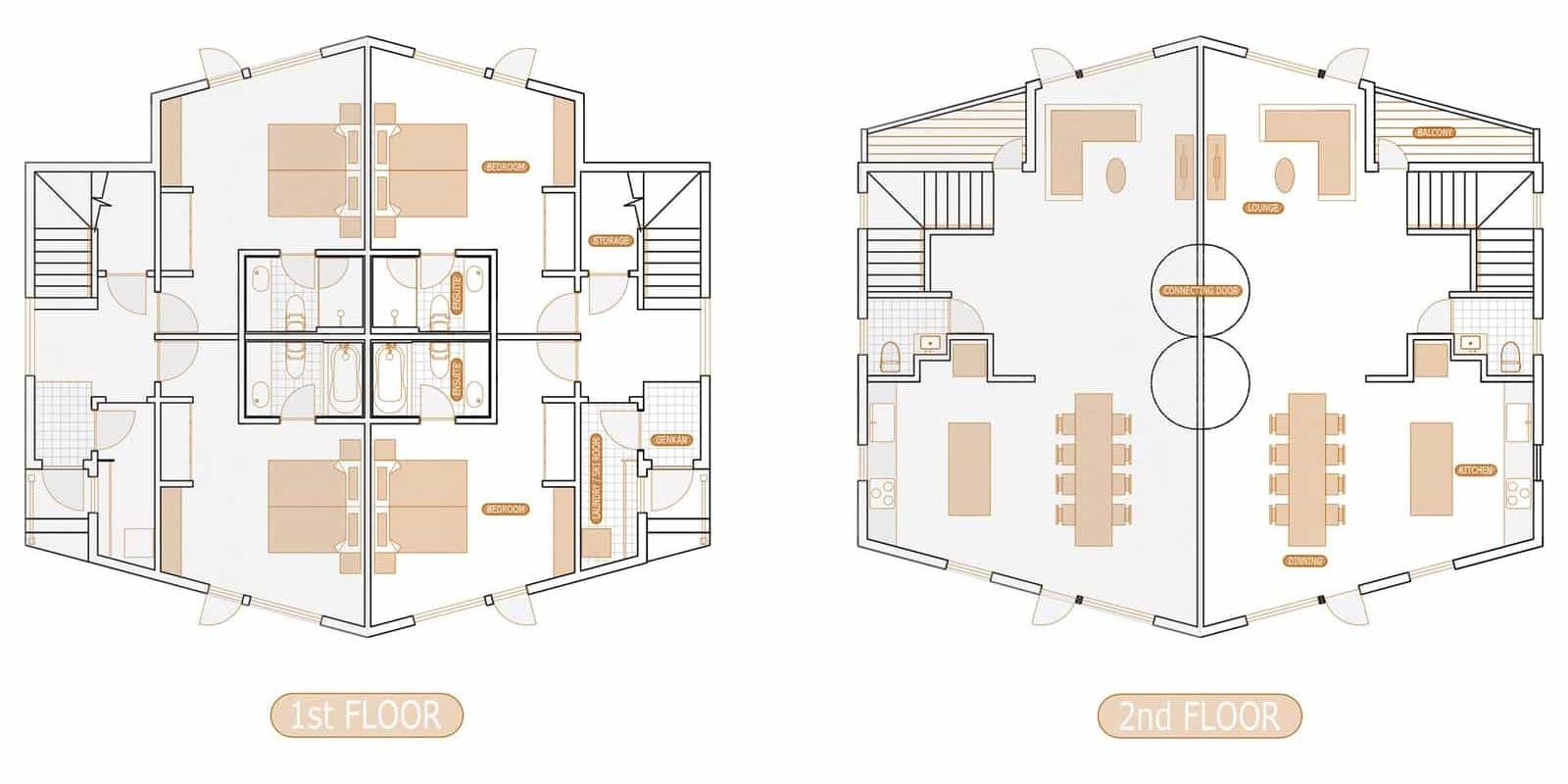 Aki Floor Plan | Hirafu, Niseko