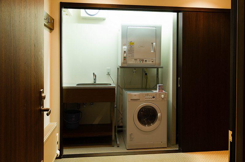 Ezorisu Laundry Area | Hirafu, Niseko