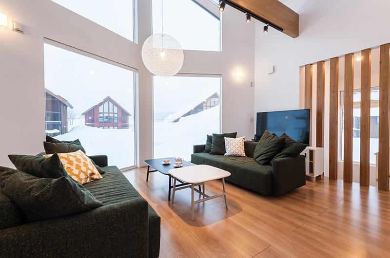 Icho Living Room | Hirafu, Niseko