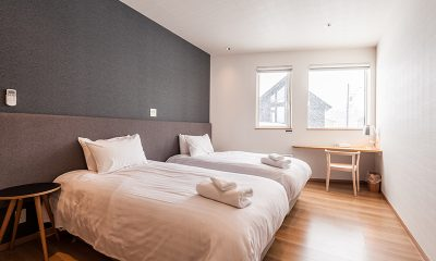 Kiri Twin Bedroom | Hirafu, Niseko