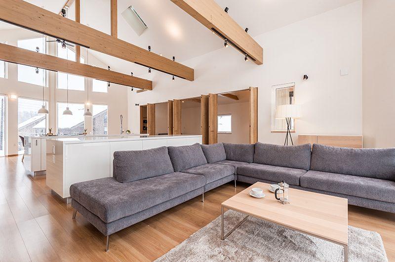 Kiri Living Area | Hirafu, Niseko