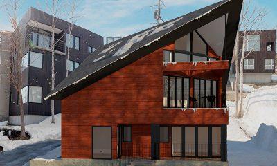 Kitsune House Building | Hirafu, Niseko