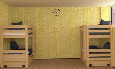 Kitsune House Bunk Beds | Hirafu, Niseko