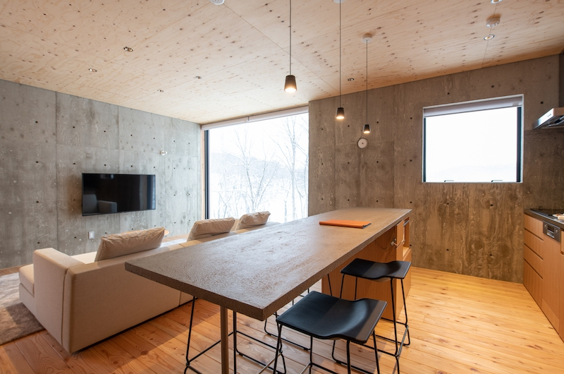Puffin Living Room | Hirafu, Niseko