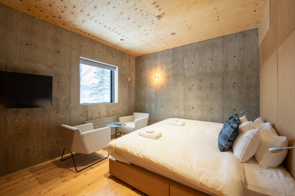 Puffin Bedroom with Seating | Hirafu, Niseko