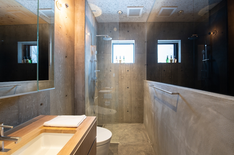 Puffin Bathroom with Shower | Hirafu, Niseko