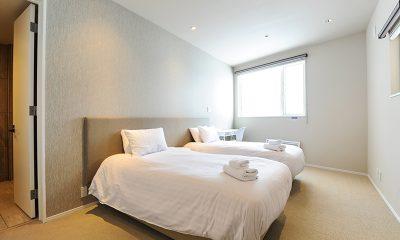 Sankei Twin Bedroom Area   Hirafu, Niseko
