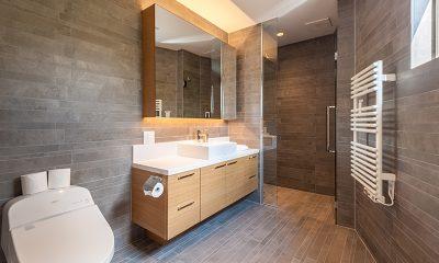 Shiroyama Bathroom | Hirafu, Niseko
