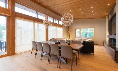 Soseki Dining and Living Area | Hirafu, Niseko
