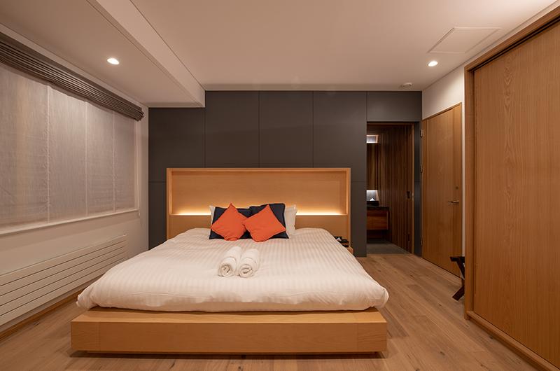 Soseki Master Bedroom Area | Hirafu, Niseko