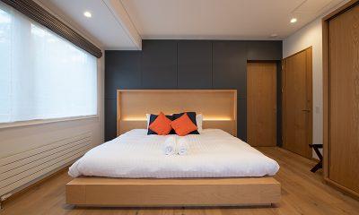 Soseki Master Bedroom | Hirafu, Niseko