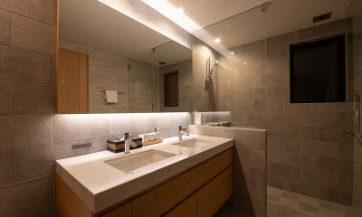 Soseki Bathroom Three | Hirafu, Niseko