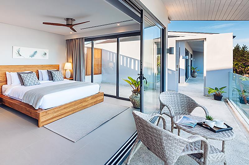 Twin Villas Natai Villa North Bedroom with Balcony | Natai, Phang Nga