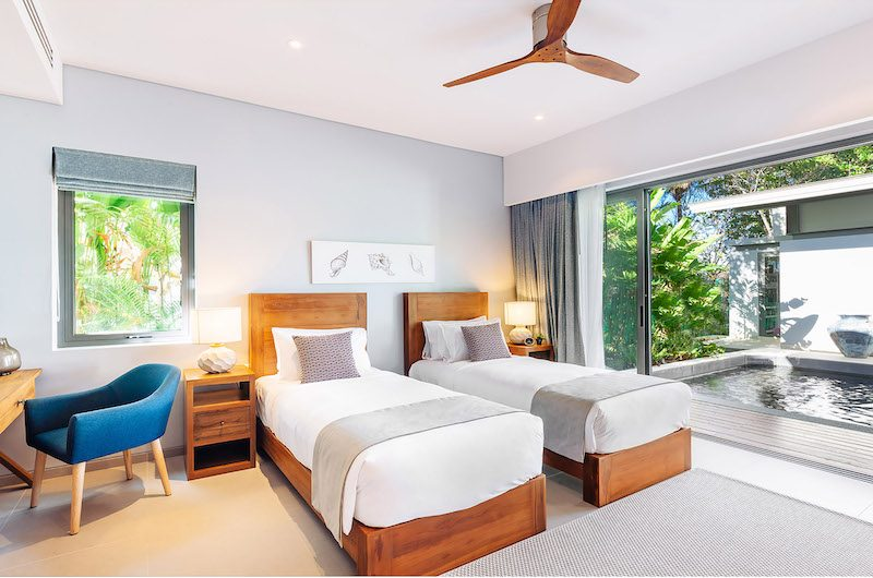 Twin Villas Natai Villa North Twin Bedroom with Ponds View | Natai, Phang Nga