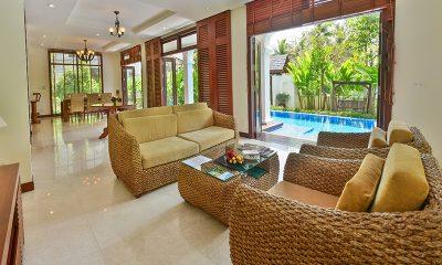 Furama Villas Danang Three Bedrooms Villa Living Room   Danang, Vietnam