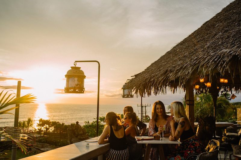 Bali Canggu Ji Restaurant Sunset