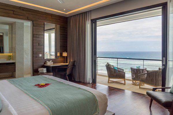 Grand Cliff Nusa Dua Bedroom with Seating | Nusa Dua, Bali