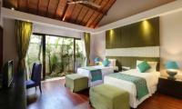 Karang Saujana Estate Villa Saujana Twin Bedroom Area | Ungasan, Bali