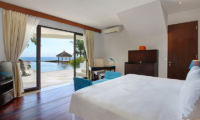 Karang Saujana Estate Villa Saujana Bedroom with Pool View | Ungasan, Bali