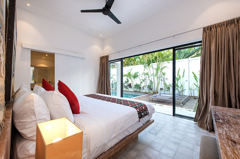 Villa Angel Bedroom with Pool View | Petitenget, Bali
