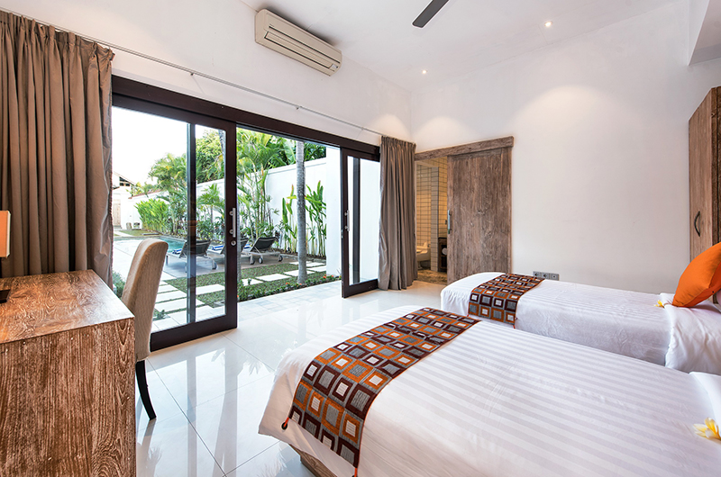 Villa Angel Twin Bedroom | Petitenget, Bali
