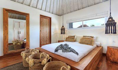 Villa Madura Bedroom One with Lamps | Seminyak, Bali