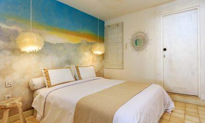 Villa Madura Bedroom Two with Lamps | Seminyak, Bali