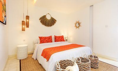 Villa Madura Bedroom Three with Lamps | Seminyak, Bali