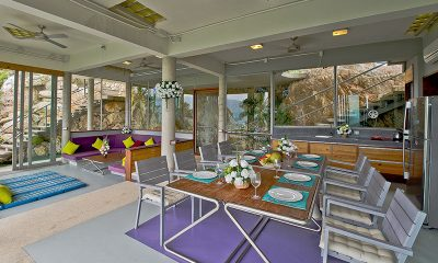 Quartz House Dining Table | Taling Ngam, Koh Samui