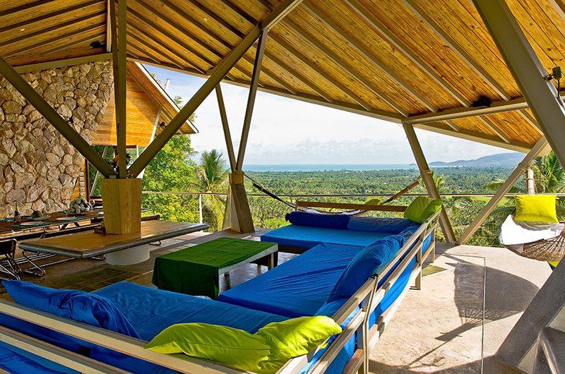 Quartz House Living Area | Taling Ngam, Koh Samui
