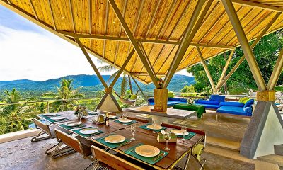 Quartz House Open Plan Dining Table | Taling Ngam, Koh Samui