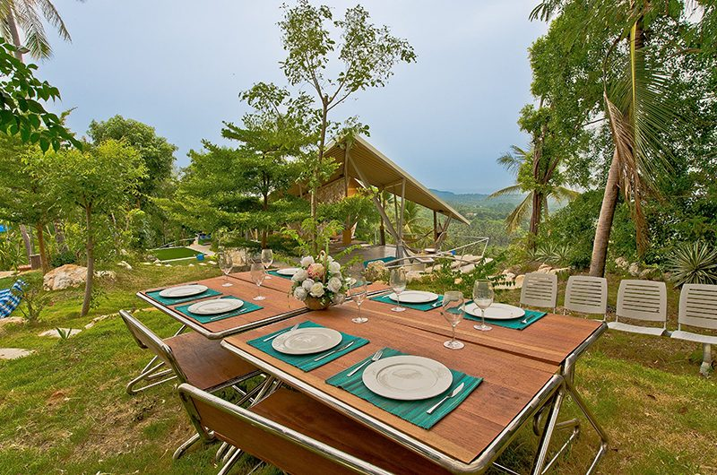 Quartz House Outside Dining Area | Taling Ngam, Koh Samui