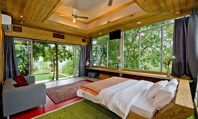 Quartz House Bedroom Four with Seating | Taling Ngam, Koh Samui