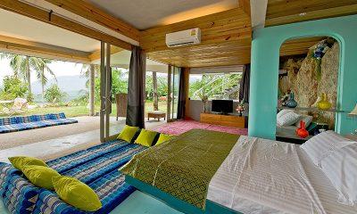 Quartz House Bedroom One Side | Taling Ngam, Koh Samui