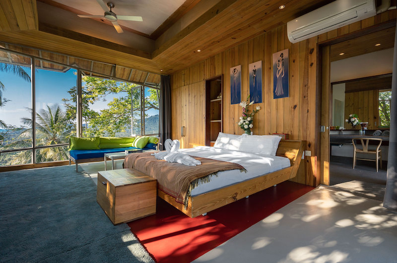 Quartz House Spacious Bedroom with Seating | Taling Ngam, Koh Samui
