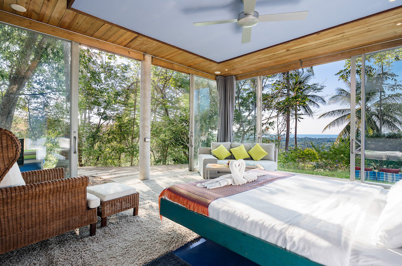 Quartz House Spacious Bedroom Side   Taling Ngam, Koh Samui