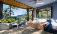 Quartz House Spacious Bedroom Area   Taling Ngam, Koh Samui