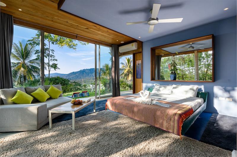 Quartz House Spacious Bedroom Area | Taling Ngam, Koh Samui