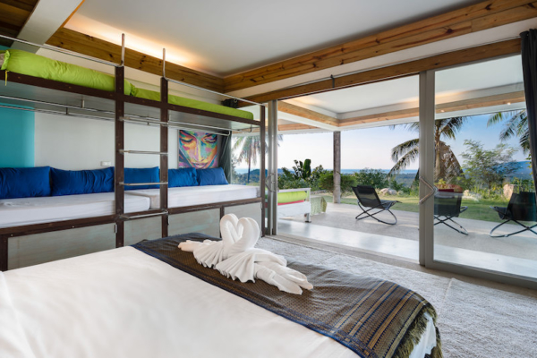 Quartz House Bedroom and Bunk Bed Area | Taling Ngam, Koh Samui