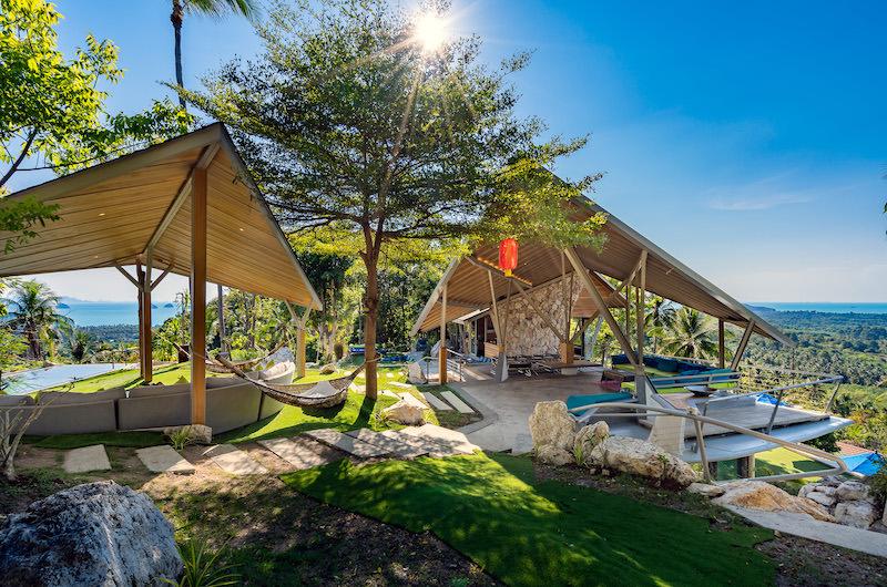 Quartz House Garden with Hammock | Taling Ngam, Koh Samui
