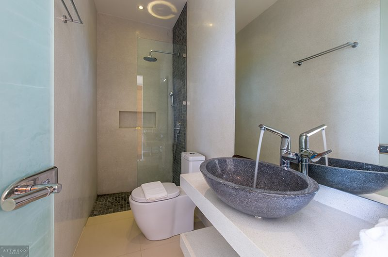 Villa Lily Bathroom One | Bang Por, Koh Samui