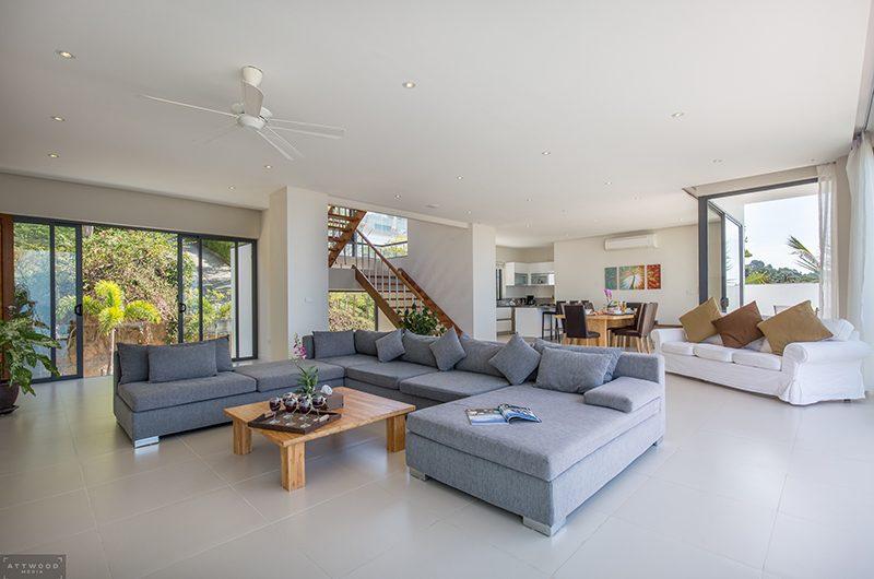 Villa Lily Living Room | Bang Por, Koh Samui