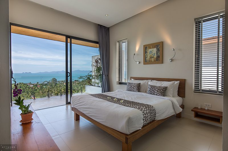 Villa Lily Spacious Bedroom One | Bang Por, Koh Samui