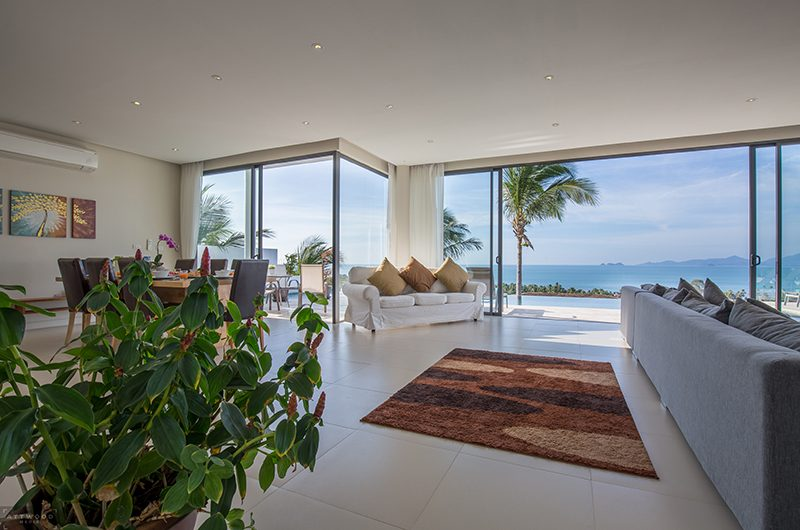 Villa Lily Open Plan Living Area | Bang Por, Koh Samui