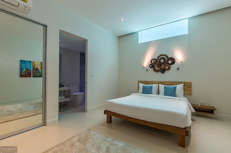 Villa Lily Bedroom Four with Enclosed Bathroom | Bang Por, Koh Samui