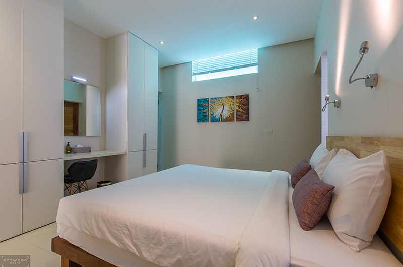 Villa Lily Bedroom Two with Study Table | Bang Por, Koh Samui