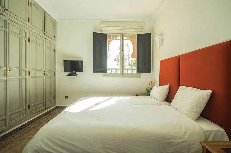 Villa Abalya 21 Twin Bedroom | Marrakech, Morocco