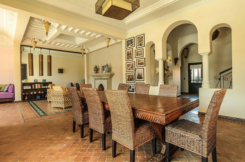 Villa Abalya 22 Dining Table | Marrakech, Morocco
