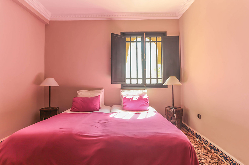 Villa Abalya 22 Twin Bedroom Area | Marrakech, Morocco